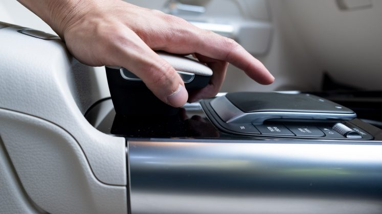 Mercedes EQA centre console