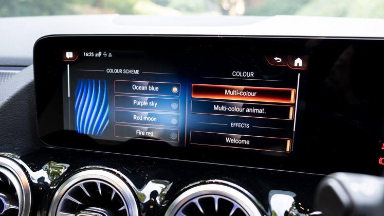 Mercedes EQA colours