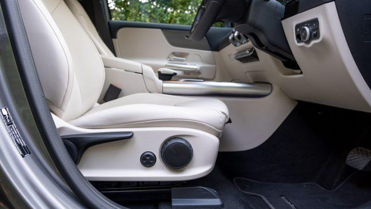 Mercedes EQA electric seat