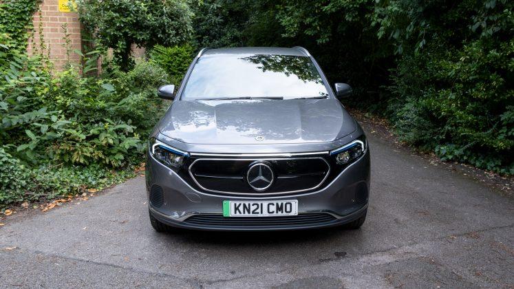 Mercedes EQA front