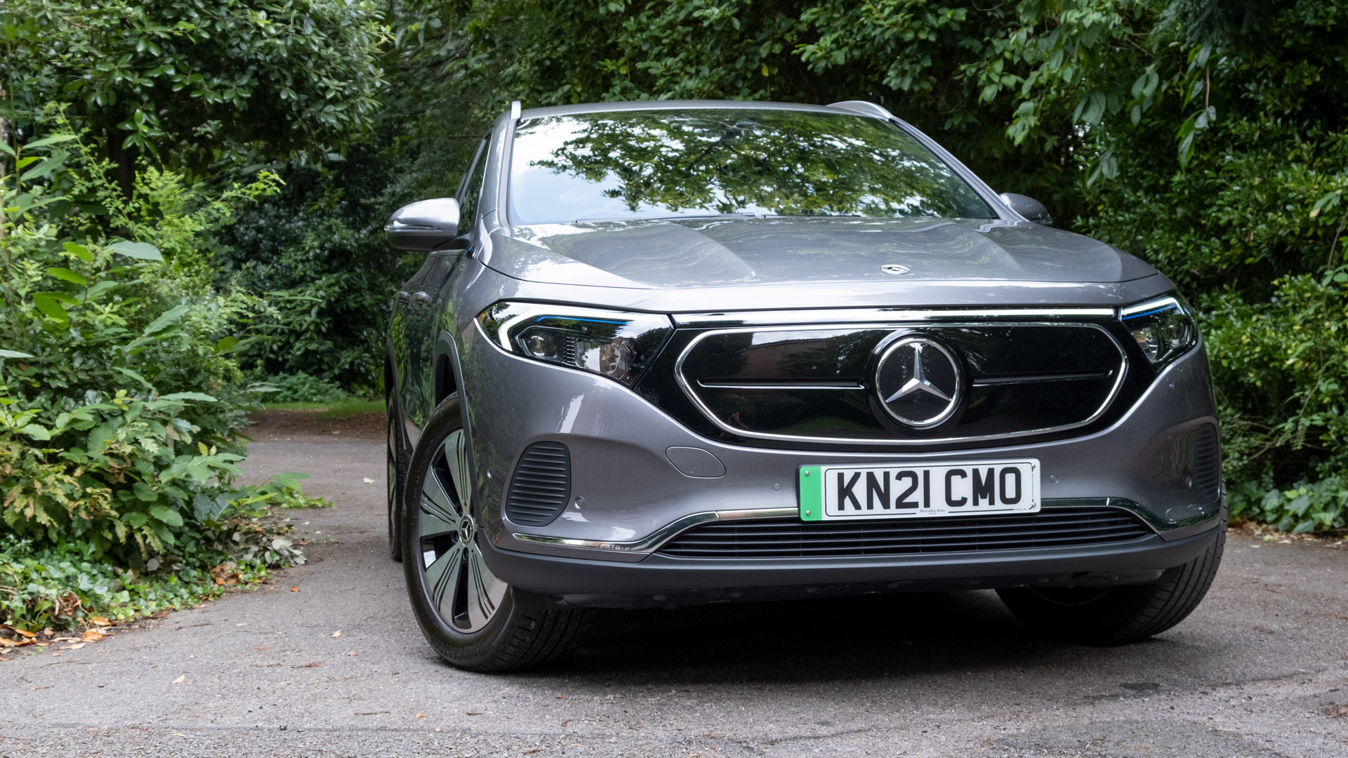 Mercedes EQA front design