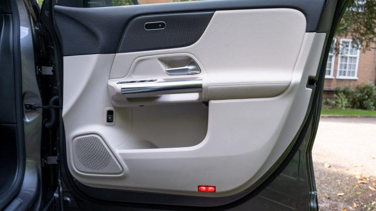 Mercedes EQA front door