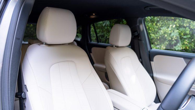 Mercedes EQA front seats