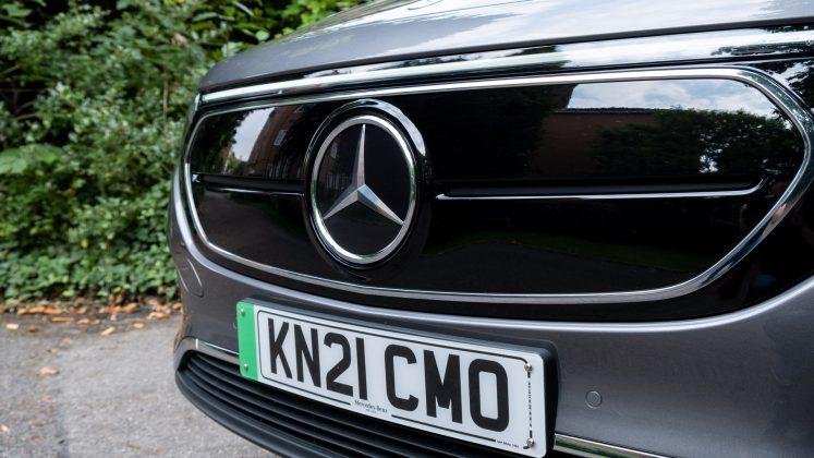 Mercedes EQA grille