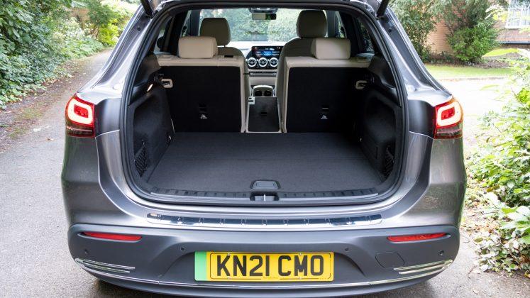 Mercedes EQA one seat down