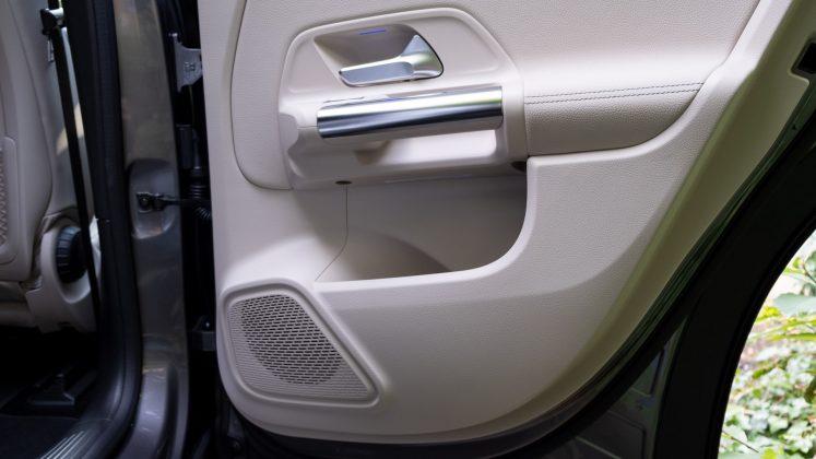 Mercedes EQA rear door