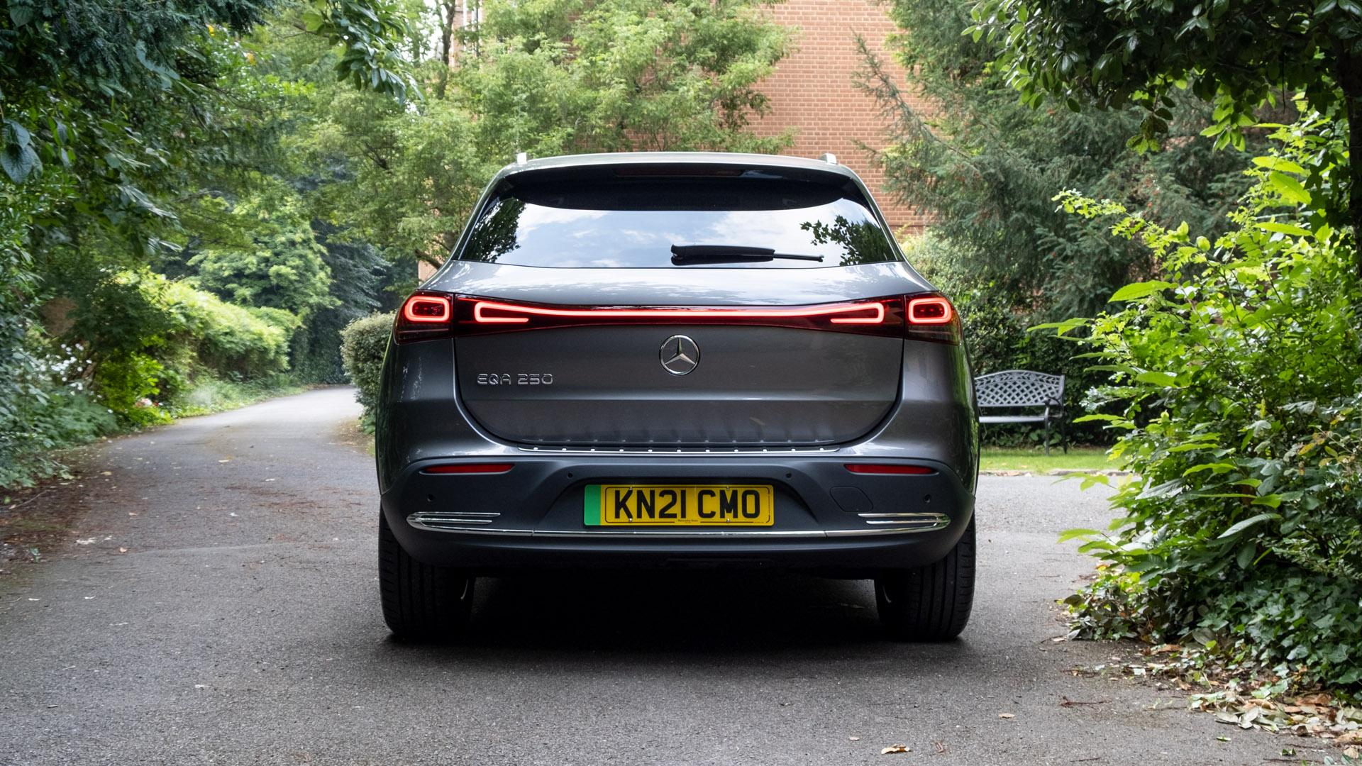 Mercedes EQA rear look