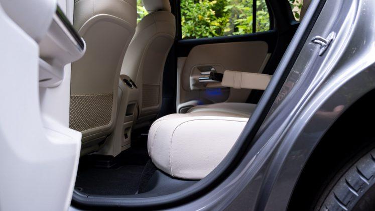 Mercedes EQA rear seat design