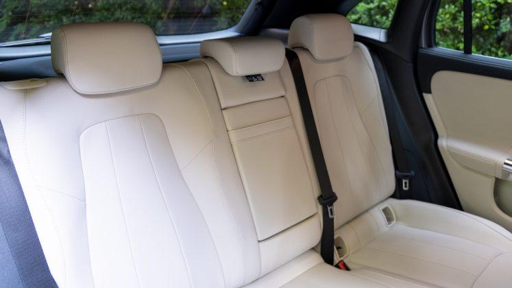 Mercedes EQA rear seats