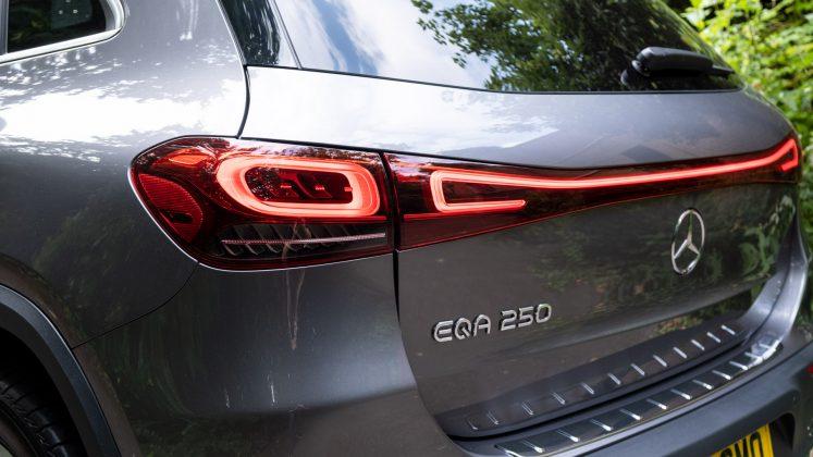 Mercedes EQA taillights